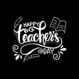 Happy teacher's day greeting card. - 223657872