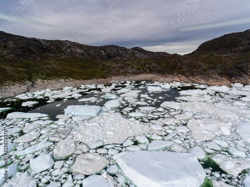 Grenlandia | Widok z lotu ptaka