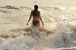 Leinwanddruck Bild - Badeurlaub am Meer