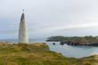 canvas print picture - Leuchtturm in Balitmore Irland Sherkin
