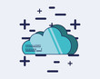 cloud computing data privacy icon