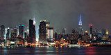 Manhattan midtown skyline at night - 223799852