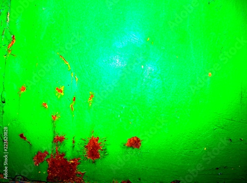 abstraction of green iron - 223820828