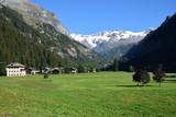 Valle d'Aosta - Monte Rosa visto dalla valle del Lys