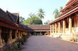 Vientiane, Laos - January 3, 2016 : Wat Sisaket Temple