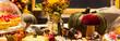 retro decoration of the festive table - 223881224