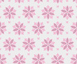 seamless pattern floral with stars - 223908415