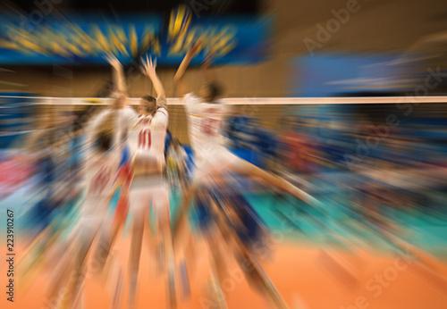 Volleyball match, World Cup