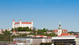 Bratislava castle and St.Martin cathedral