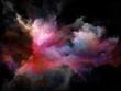 Leinwandbild Motiv Illusion of Color Motion