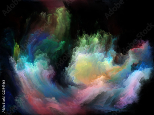 Obraz na płótnie Depth of Color Motion