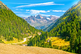 Austrian Alps in summer - 223974453