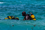 Snorkeling in the water Moroccan Coast, Belyounech City