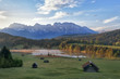 Leinwanddruck Bild - Alpensee