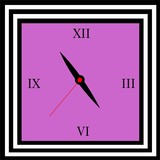 purple square watch - 224049848