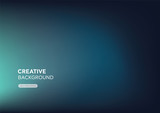 Modern minimal abstract gredient turquoise blue background - 224108602