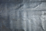 silver paint on wall on roof background texture - 224110653