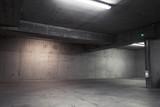 Abstract empty garage interior, background - 224116627