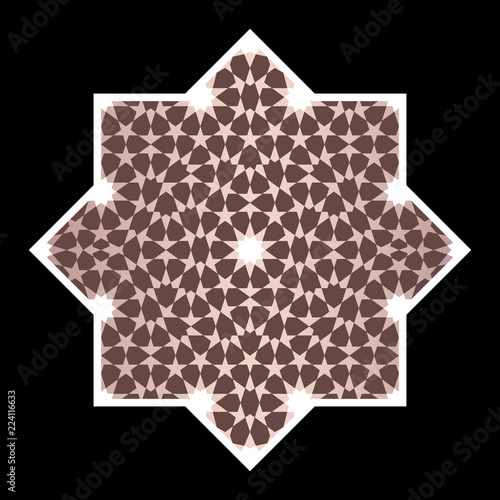 Morocco geometric Ornament.