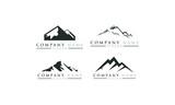 logo set mountain