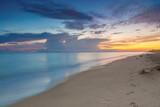 sunset on the beach - 224218449
