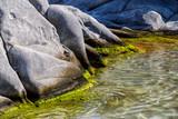Famous Kolimbitres beach and big stones in Paros, Greece. - 224245658