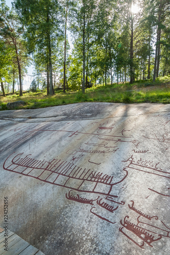 Tanum Rock Carvings, Bohuslän, Sweden