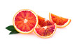 Quadro blood orange isolated on white background