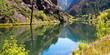 The Gunnison River flows through Black Canyon of the Gunnison National Park in Colorado