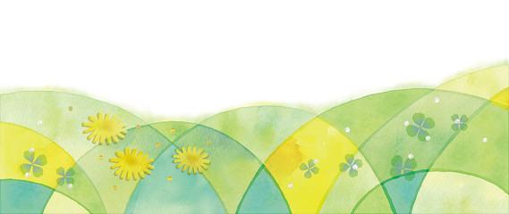 春の背景イラスト © Chica