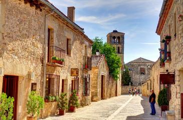 Pedraza de la Sierra, small town in central Spain