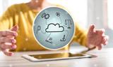Concept of cloud technology