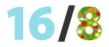 Intermittierendes Fasten, 16/8 Methode, Intervallfasten, Fasten, Abnehmen, gesundes Essen zu bestimmten Zeiten. Ernährung, Diät, konzeptionelle Grafik