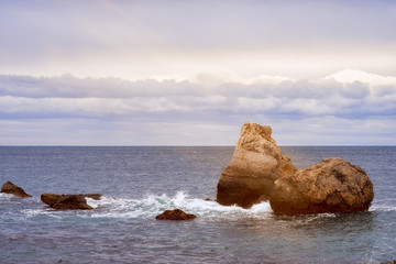 stones at the sea, beautiful landscape © elen31