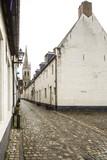 Old beguinage in Flandes, Belgium