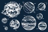 Solar system illustration - 224436869