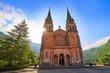 Leinwandbild Motiv Covadonga Catholic sanctuary Basilica Asturias