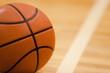 Basketball Ball on Basketball Court