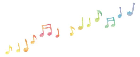 音符のイラスト © Chica