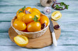 Quadro Raw yellow tomatoes