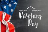 composite of veterans day flag - 224476822