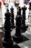 chessboard, street games, chess tournament