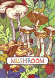Edible mushroom cover - 224495447