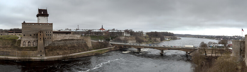 Border river Narva © Vladimir