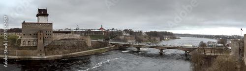 Border river Narva - 224532437