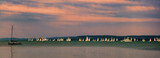 Yachts on Lake Balaton in summer, Hungary - 224536069