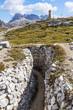 Quadro Auf dem Monte Piana