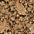 Paisley Floral oriental ethnic Pattern. Seamless Arabic Ornament. Ornamental motifs of the Indian fabric patterns.. - 224574872