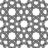 Islamic pattern illustration on white background