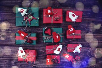 Adventskalender - Weihnachtsgeschenke